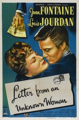 Letter from an Unknown Woman movie poster (1948) poster MOV_9e3acef8