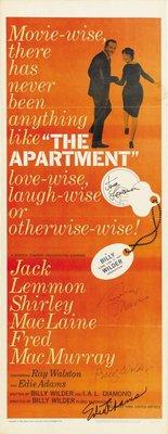 The Apartment movie poster (1960) poster MOV_9e5500e1