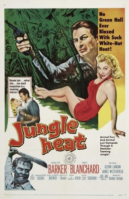 Jungle Heat movie poster (1957) poster MOV_9e62c7cd