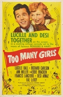 Too Many Girls movie poster (1940) picture MOV_9e866385