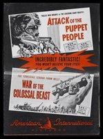 War of the Colossal Beast movie poster (1958) picture MOV_9e972ff8