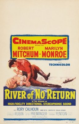 River of No Return movie poster (1954) poster MOV_9e9af22c