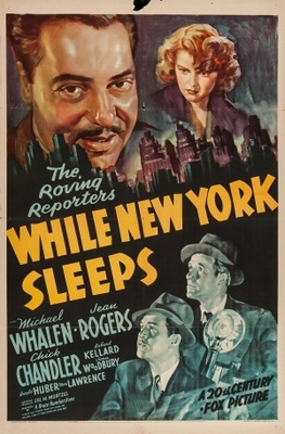 While New York Sleeps movie poster (1938) poster MOV_9ea79572