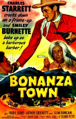 Bonanza Town movie poster (1951) poster MOV_9ec6844b