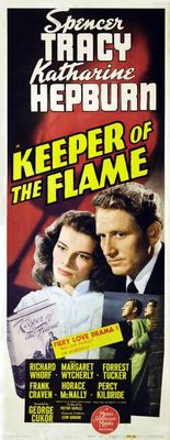 Keeper of the Flame movie poster (1942) poster MOV_9ed8314c