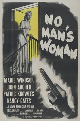No Man's Woman movie poster (1955) poster MOV_9ee17279