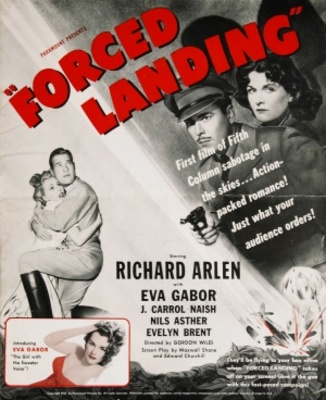 Forced Landing movie poster (1941) poster MOV_9ee3fed1
