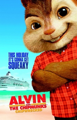 Alvin and the Chipmunks: Chip-Wrecked movie poster (2011) poster MOV_9ee911c8