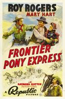 Frontier Pony Express movie poster (1939) picture MOV_9eee0df7