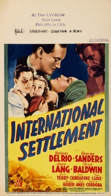 International Settlement movie poster (1938) poster MOV_9ef7f1c0