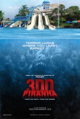 Piranha 3DD movie poster (2011) poster MOV_9efeba29
