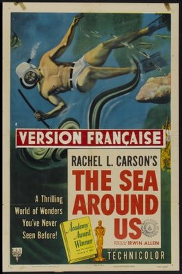 The Sea Around Us movie poster (1953) poster MOV_9f0802ff