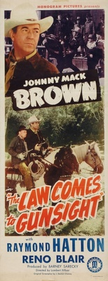 Law Comes to Gunsight movie poster (1947) poster MOV_9f0e9d69