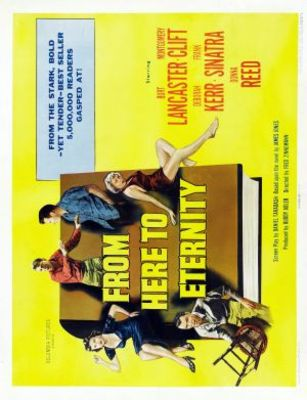 From Here to Eternity movie poster (1953) poster MOV_9f1b198e