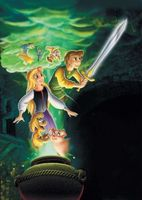 The Black Cauldron movie poster (1985) picture MOV_9f1b83ba