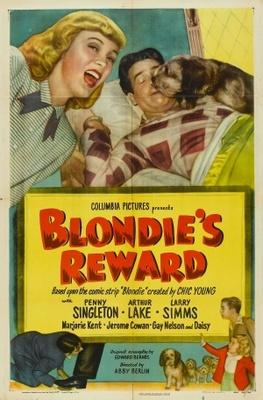 Blondie's Reward movie poster (1948) poster MOV_9f1f1828