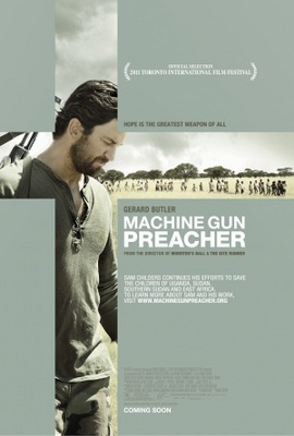 Machine Gun Preacher movie poster (2011) poster MOV_9f3f38e1