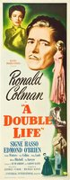 A Double Life movie poster (1947) picture MOV_9f4cb015