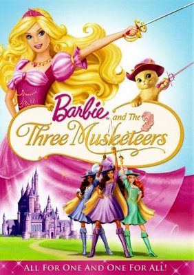 Barbie and the Three Musketeers movie poster (2009) poster MOV_9f566deb