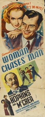 Woman Chases Man movie poster (1937) poster MOV_9f84ef21