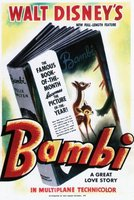 Bambi movie poster (1942) picture MOV_9f8a58be