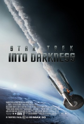 Star Trek Into Darkness movie poster (2013) poster MOV_9f8bc3cf
