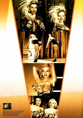 Gentlemen Prefer Blondes movie poster (1953) poster MOV_9fdfbab1