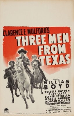Three Men from Texas movie poster (1940) poster MOV_9ffa8ca9