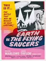 Earth vs. the Flying Saucers movie poster (1956) picture MOV_9wjw27q9