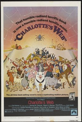 Charlotte's Web movie poster (1973) poster MOV_a0062251