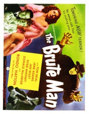 The Brute Man movie poster (1946) poster MOV_a00b519b