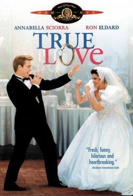 True Love movie poster (1989) poster MOV_a0219f26