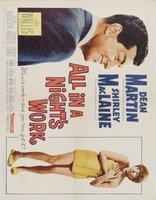 All in a Night's Work movie poster (1961) picture MOV_a0287795