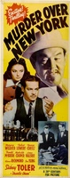 Murder Over New York movie poster (1940) picture MOV_6477dc4e