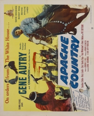Apache Country movie poster (1952) poster MOV_a02eab97