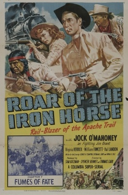 Roar of the Iron Horse, Rail-Blazer of the Apache Trail movie poster (1951) poster MOV_a039712a