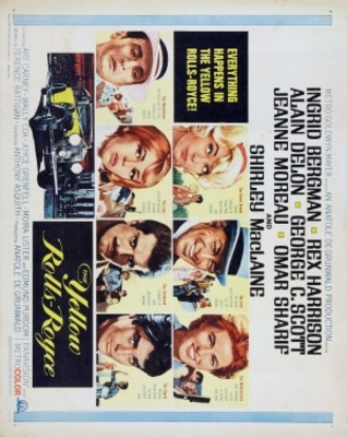 The Yellow Rolls-Royce movie poster (1964) poster MOV_a03e284d