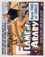 Flame of Araby movie poster (1951) picture MOV_a0587605
