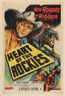 Heart of the Rockies movie poster (1951) poster MOV_a09c15b2