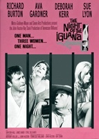 The Night of the Iguana movie poster (1964) picture MOV_a09e3612