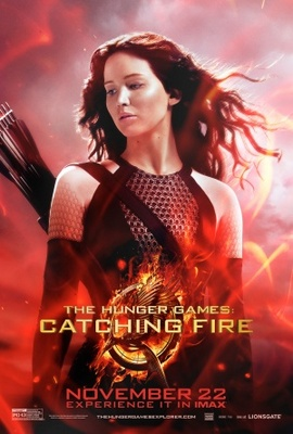 The Hunger Games: Catching Fire movie poster (2013) poster MOV_a0a1ae85