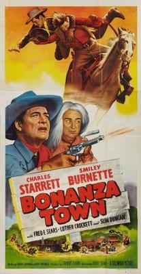 Bonanza Town movie poster (1951) poster MOV_a0ab7aef