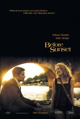 Before Sunset movie poster (2004) poster MOV_a0bf7fbf
