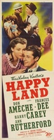 Happy Land movie poster (1943) picture MOV_a0c4dfdf