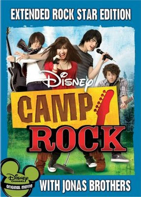 Camp Rock movie poster (2008) poster MOV_a0d447d4