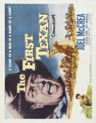 The First Texan movie poster (1956) poster MOV_a0daff0e