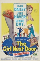 The Girl Next Door movie poster (1953) picture MOV_a0f06eb7