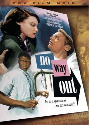 No Way Out movie poster (1950) poster MOV_a0f92434