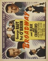 Broadway movie poster (1942) picture MOV_a10901d8