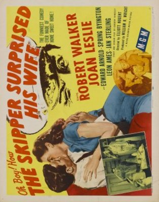 The Skipper Surprised His Wife movie poster (1950) poster MOV_a1241231